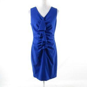 Calvin Klein blue sleeveless sheath dress 8